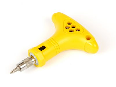 Handig T-model schroevendraaier met bitjes voor kinderen