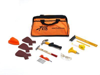 Basis gereedschapset voor kinderen om met echt gereedschap aan de slag te gaan!