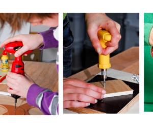 Foto 1 blog met je handen werken